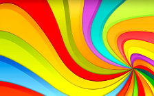 Color lines abstract wide wallpapers