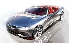 BMW 4-series Convertible car sketch wide wallpapers and HD wallpapers