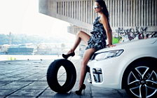 Cars and Girls wide wallpapers and HD wallpapers