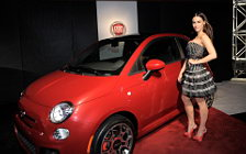 Fiat and Girl wide wallpapers and HD wallpapers