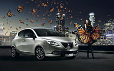 Lancia and Girl wide wallpapers and HD wallpapers