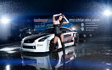 Nissan and Girl wide wallpapers and HD wallpapers