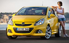 Opel and Girl wide wallpapers and HD wallpapers