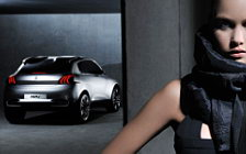 Peugeot and Girl wide wallpapers and HD wallpapers