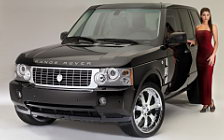 Range Rover and Girl wide wallpapers and HD wallpapers