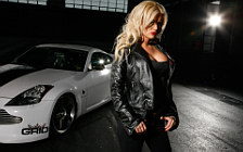 Cars and girls wide wallpapers