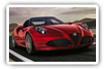 Alfa Romeo 4C cars desktop wallpapers