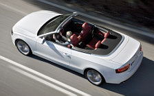 Audi A5 Cabriolet 2008 wide wallpapers