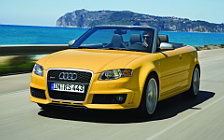 Audi RS4 Cabriolet wide wallpapers