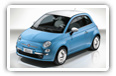 Fiat 500 cars desktop wallpapers