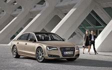 Audi A8 L W12 Quattro wide wallpapers