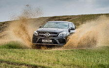 Mercedes-Benz GLE 350 d 4MATIC Coupe AMG Line 4x4 Off Road wide wallpapers and HD wallpapers