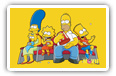 Simpsons wide wallpapers