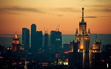 Moscow city desktop wallpapers