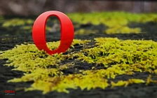 Opera logo wide wallpapers