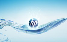Hewlett Packard wide wallpaper