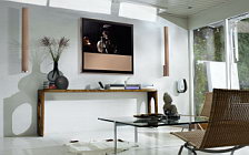 Bang & Olufsen BeoVision 10 46 Chanterelle with BeoLab 6002 Chanterelle wide wallpapers and HD wallpapers