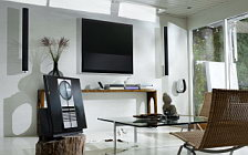 Bang & Olufsen BeoVision 10 46 with BeoLab 6002 and BeoLab 11 BeoCom 6000 BeoCom 1 BeoSound 3200 Beo 6 wide wallpapers and HD wallpapers