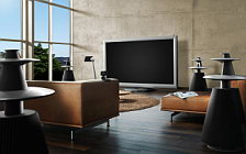 Bang & Olufsen BeoVision 4 103 with 3D feature wide wallpapers and HD wallpapers