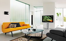 Bang & Olufsen BeoVision 7 40 3D with BeoLab 8002 and BeoSound 5 Encore and Beo6 wide wallpapers and HD wallpapers