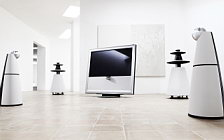 Bang & Olufsen BeoVision 9 with BeoLab 5 and BeoLab 9 wide wallpapers and HD wallpapers