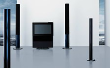 Bang & Olufsen BeoVision Avant in a DSS set up wide wallpapers and HD wallpapers