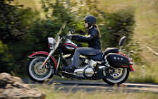 Harley-Davidson Heritage Softail Classic motorcycle wallpapers