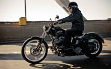 Harley-Davidson Softail Blackline motorcycle wallpapers