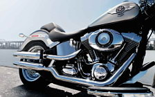 Harley-Davidson Softail Fat Boy motorcycle wallpapers