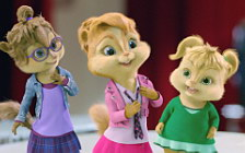 Alvin and The Chipmunks - The Squeakquel movie wide wallpapers