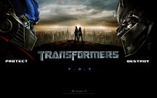 Transformers movie wide wallpapers